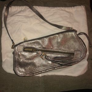 Salvatore Ferragamo Metallic Small Handbag